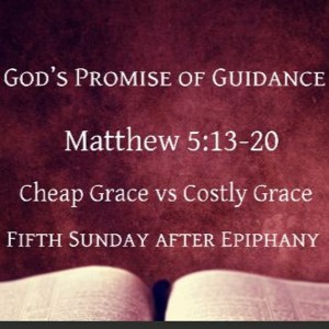 God's Promise of Guidance
