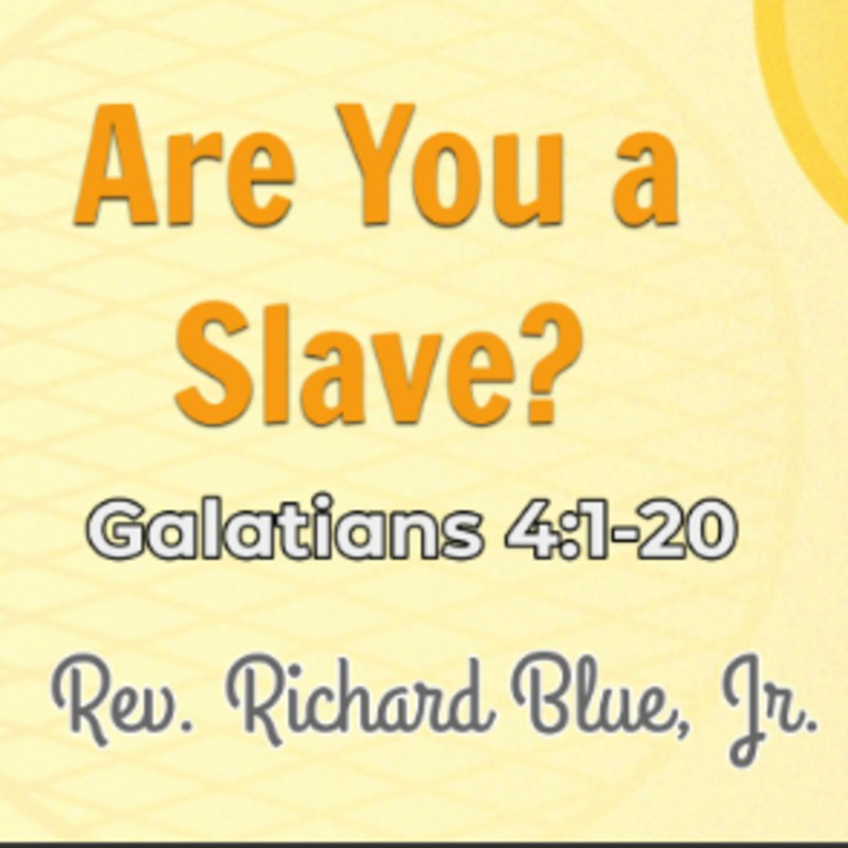 Are You a Slave?